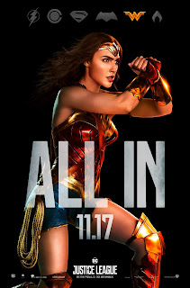 Justice League Wonder Woman Character Poster