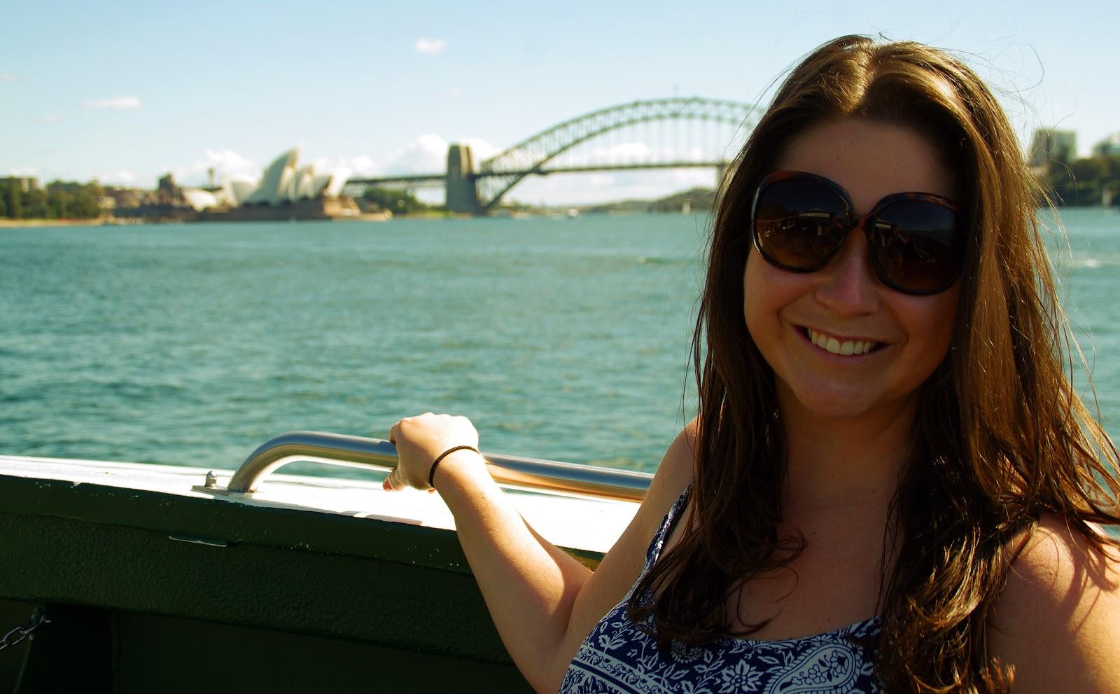 the Aussie Flashpacker in Sydney Harbour