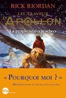 Les travaux d'Apollon tome 2 Rick Riordan Article lifestyle spécial automne Haul wishlist livres films séries mode Coin des licornes Blog lifestyle Toulouse