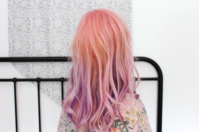 how to get pink hair