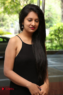 Actress Nikita Bisht Pictures in Black Long Dress at Akritti Elite Exhibition Launch  0005.jpg