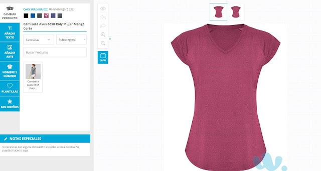 cómo diseñar una camiseta