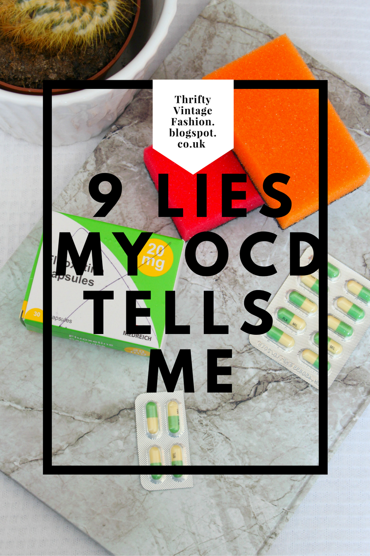 9 Lies My OCD Tells Me anxiety mental health illness support advice anxiety depression