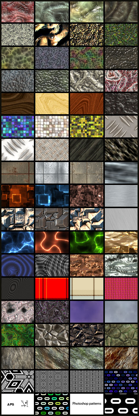 Photoshop and Photoshop Elements patterns
