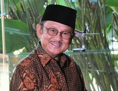 Biografi BJ Habibie Singkat