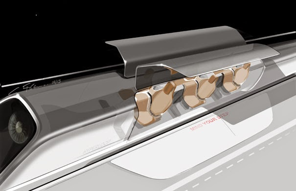 Hyperloop capsule/pod