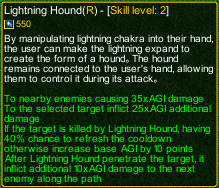 naruto castle defense 6.0 Kakashi Lightning Hound detail
