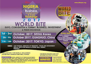 World BITE Expo 2017: FOW World partners SMEDAN, Federal Ministry of Trade, Industry and Investment 1
