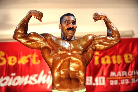 Indian Army Bodybuilders Workout - Top Ten Indian Bodybuilders