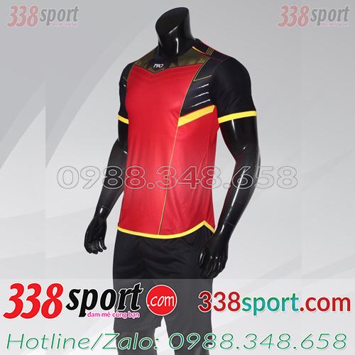 Áo Bóng Đá Không Logo Hot T90-AnyMore STA01 Đỏ