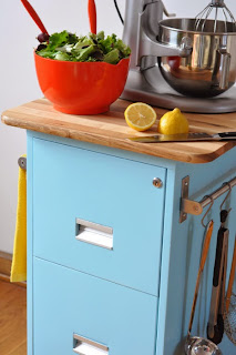 File Cabinet Kitchen Island