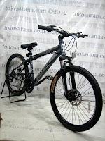 Sepeda Gunung Pacific Invert 21 Speed 26 Inci - Silver