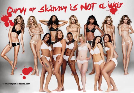 df6ce890925 It is NOT okay to hate on skinny women (the curvy vs skinny wars ...