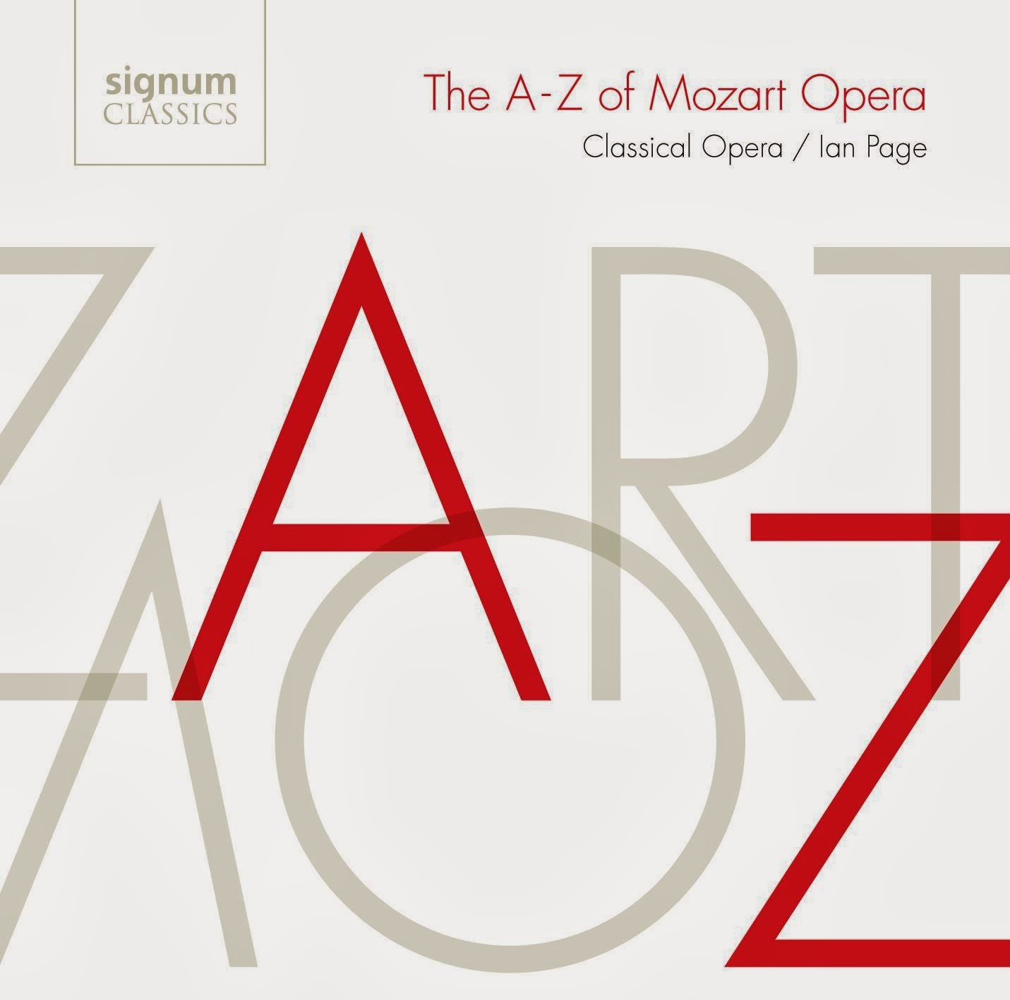 The A to Z of Mozart