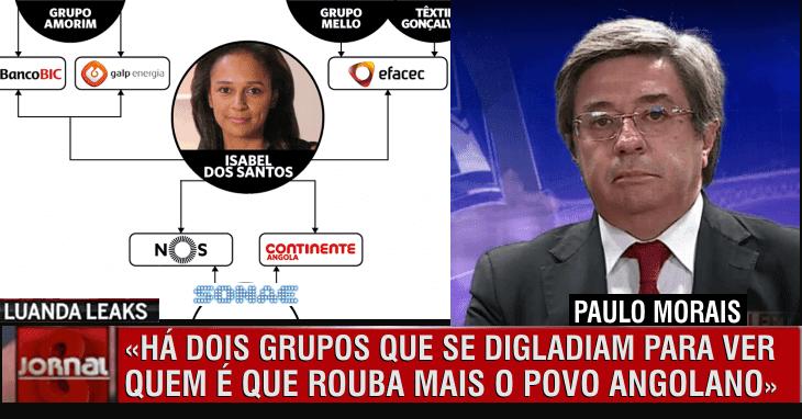 Luanda Leaks: Paulo Morais sem papas na língua na CMTV