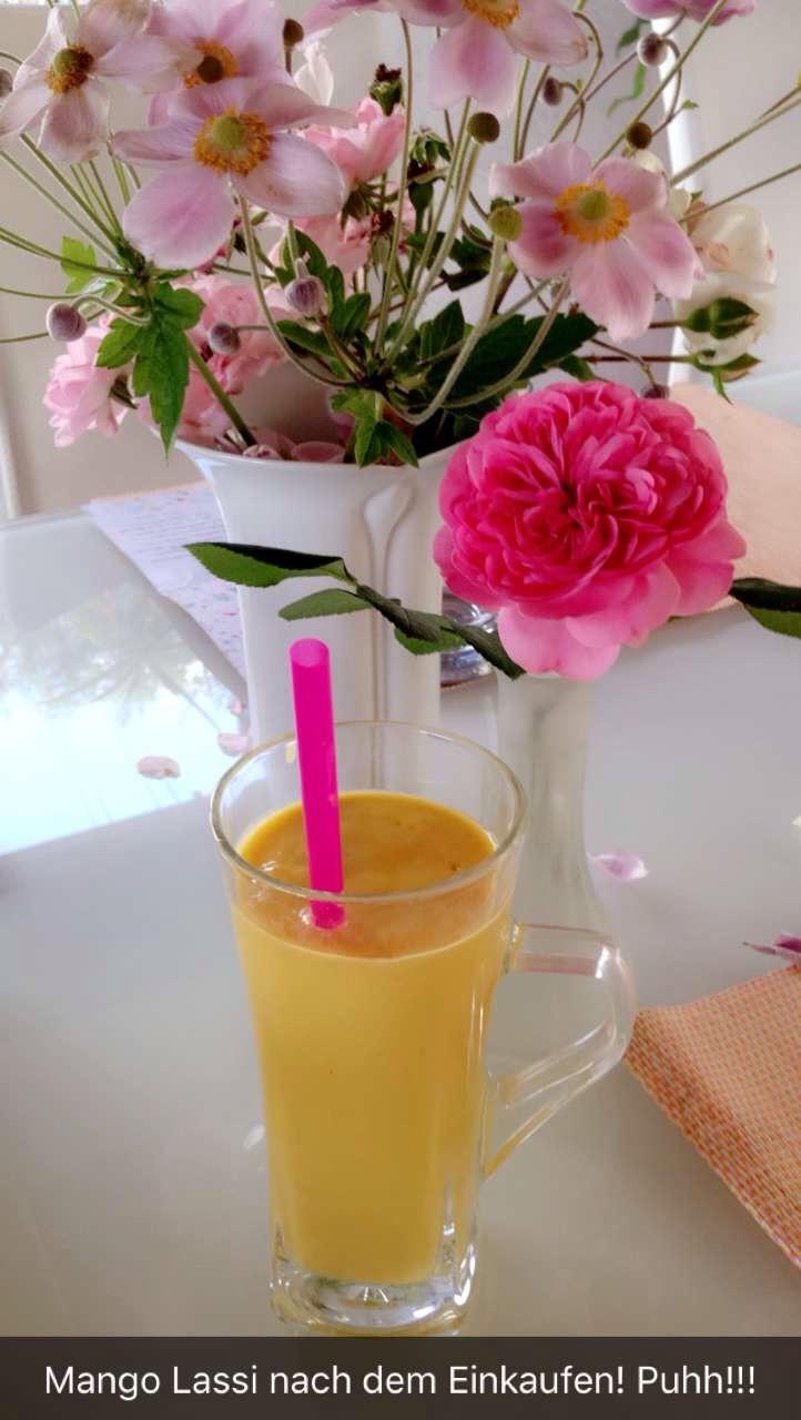 Mango-Lassi: Super leckerer Post-Workout-Smoothie