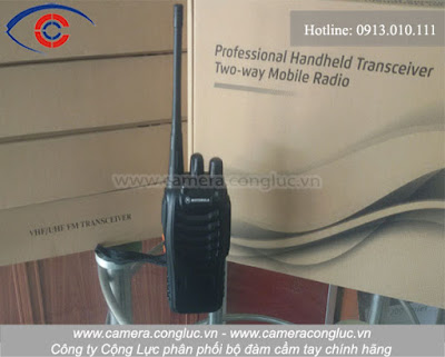 Bán buôn bán lẻ bộ đàm Motorola GP-368 uy tín tại Hải Phòng.