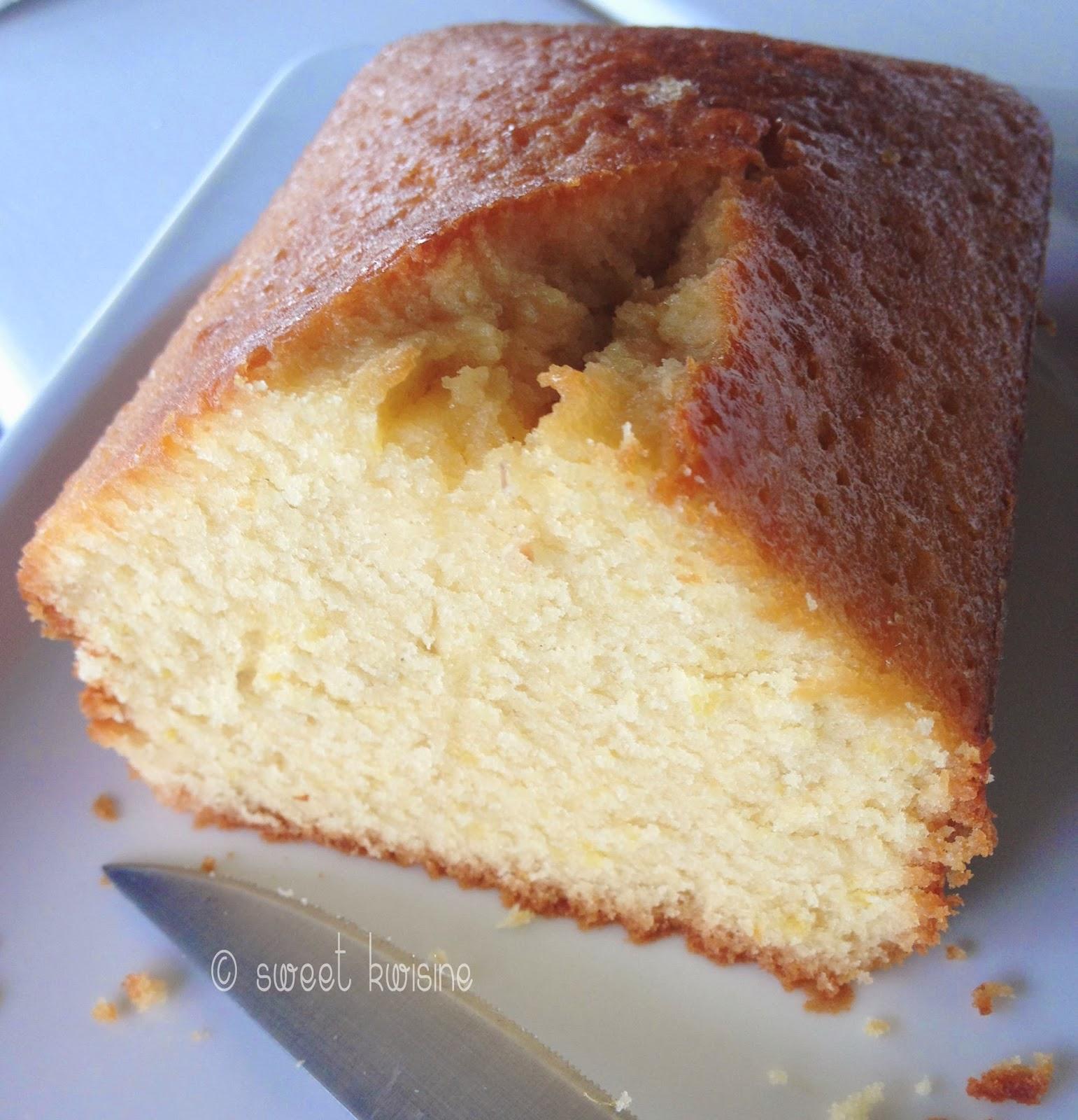 sweet kwisine, citron, Pierre Hermé, cake, zeste, gâteau de voyage, jus de citron