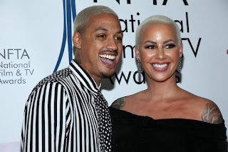 Amber Rose Pregnant With Alexander 'AE' Edward's Child