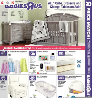 Babies R Us Flyer May 26 – June 1, 2017