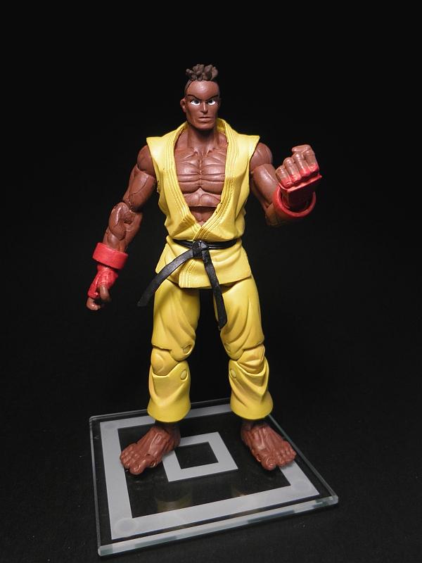 Argenta-2008 Customs: Sean Street Fighter custom figure SOTA