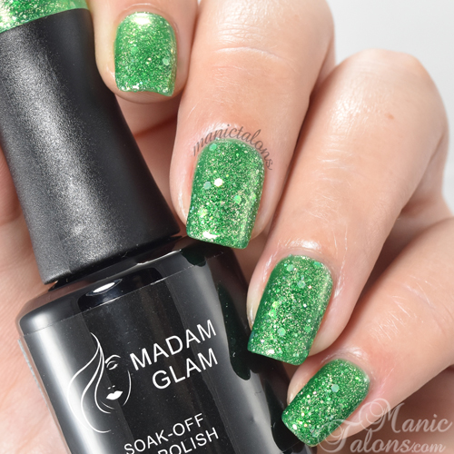 Madam Glam Gel Polish For Green Lovers Swatch