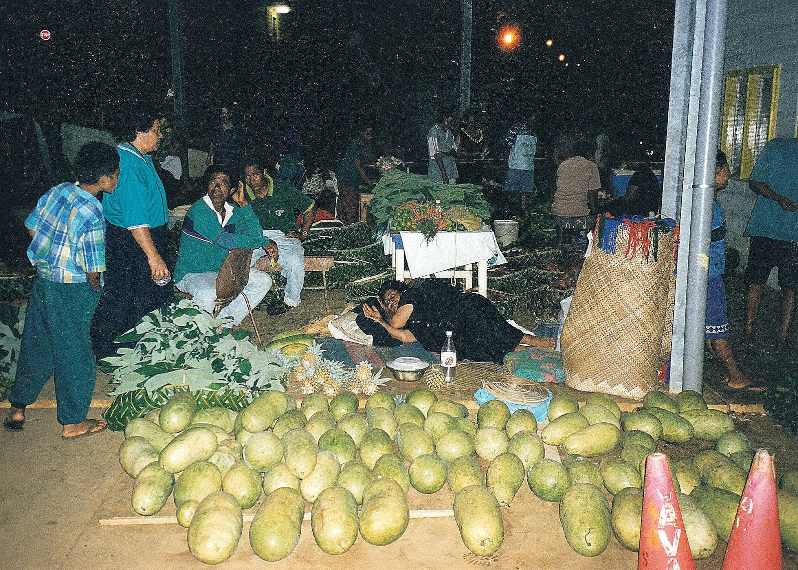 Tonga travel, where night markets are a must!