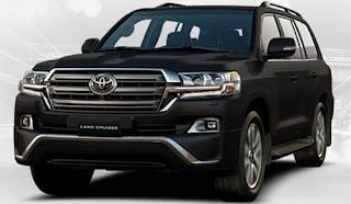 Harga Pontianak Toyota Land Cruiser Attitude Black Mica