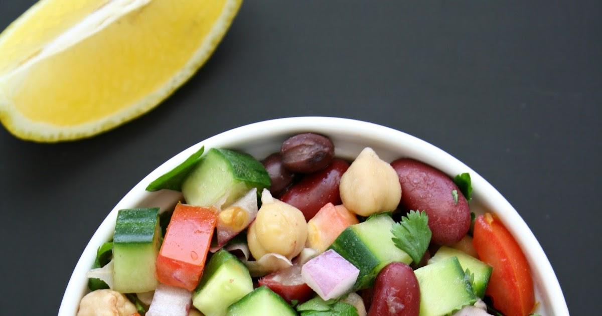 The Garden Grazer: Mediterranean Three Bean Salad