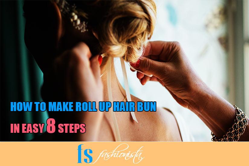 How to make a Roll Up Hair Bun