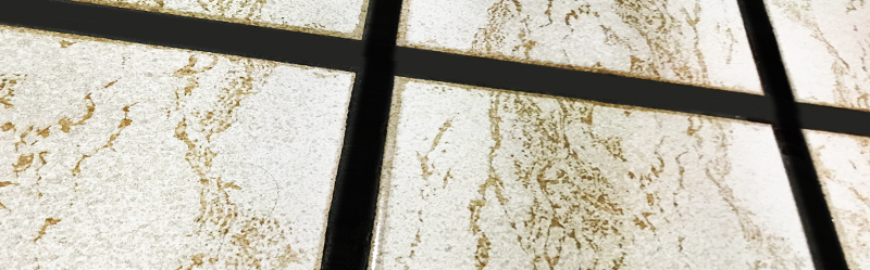 keep an eye on the size of your grout lines