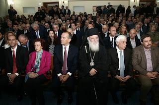 Η οικογένεια Αγγελοπούλου, ο Αρχιεπίσκοπος, ο Πρόεδρος της Δημοκρατίας και ο Υπουργός Υγείας