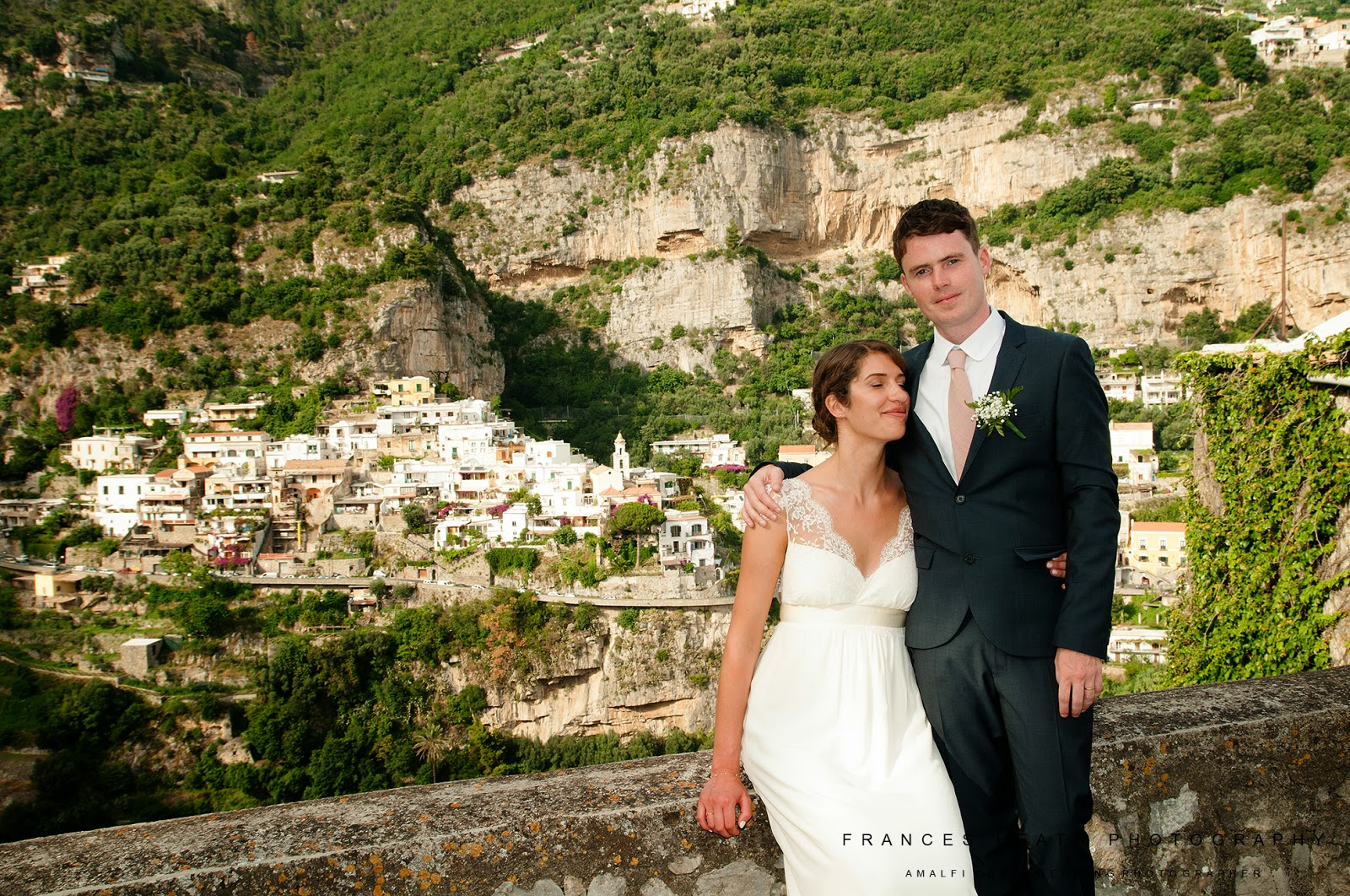 Rustic wedding in Positano