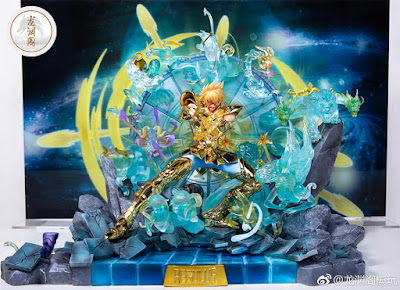 Saint Seiya resin Regulus Leo (The Lost Canvas) de Star Model Studios