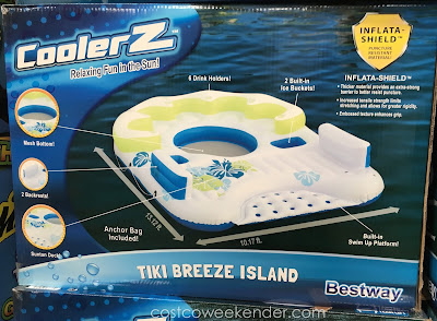Bestway CoolerZ Tiki Breeze Island: great for lounging around with your friends