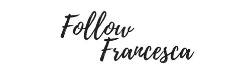 Follow Francesca