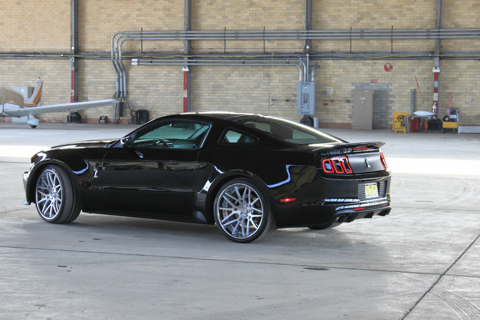 The 2014 steeda gt500 wide body a complete serialized vehicle package that includes serious performance modifications and dynamic styling available only