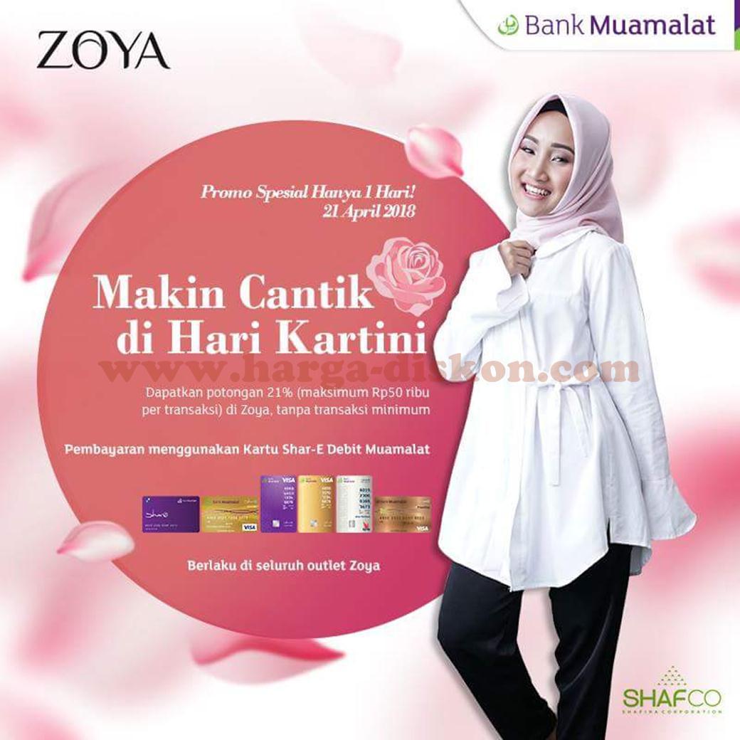 Promo Zoya Terbaru Dapatkan Potongan 21 Periode 21 April 2018