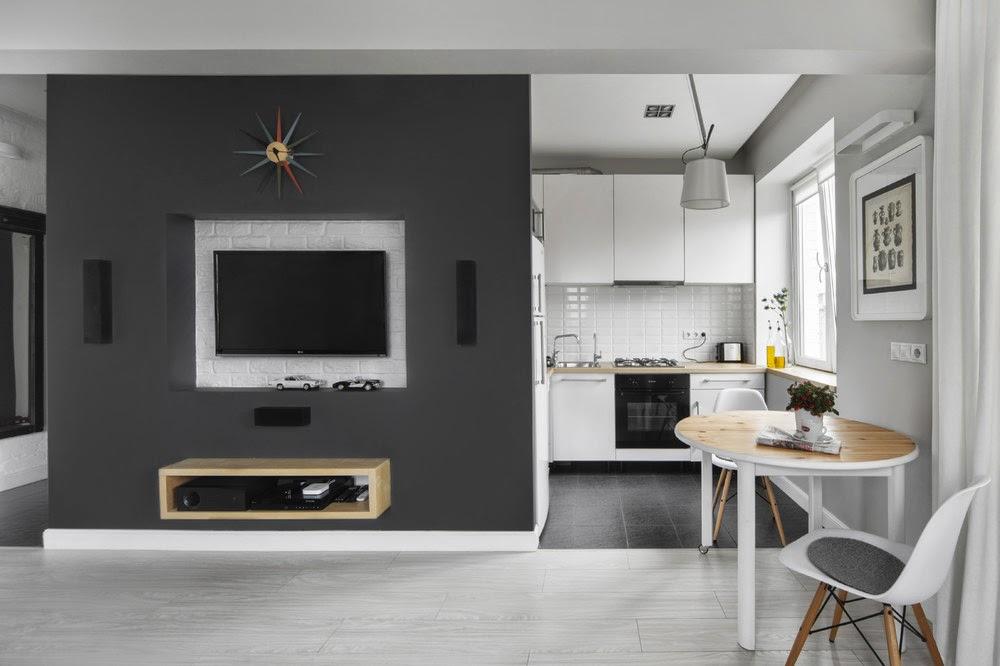 дизайн квартиры 30 кв метров фото 3