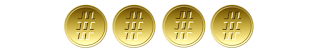 4/5 medalhas #tas