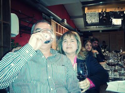 Degustação de vinhos italianos