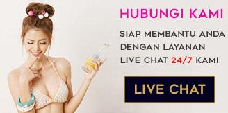 Live chat kami untuk bantuan