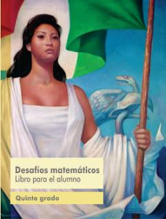 Desafíos Matemáticos libro para el alumno Quinto grado Ciclo Escolar 2016-2017