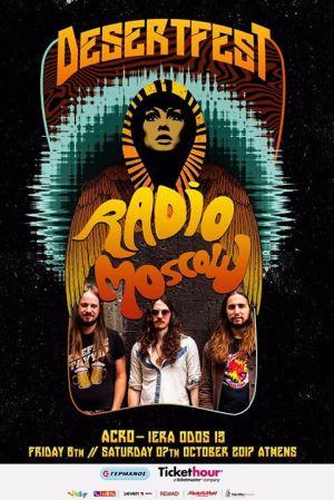 Radio Moscow στο Desertfest Athens