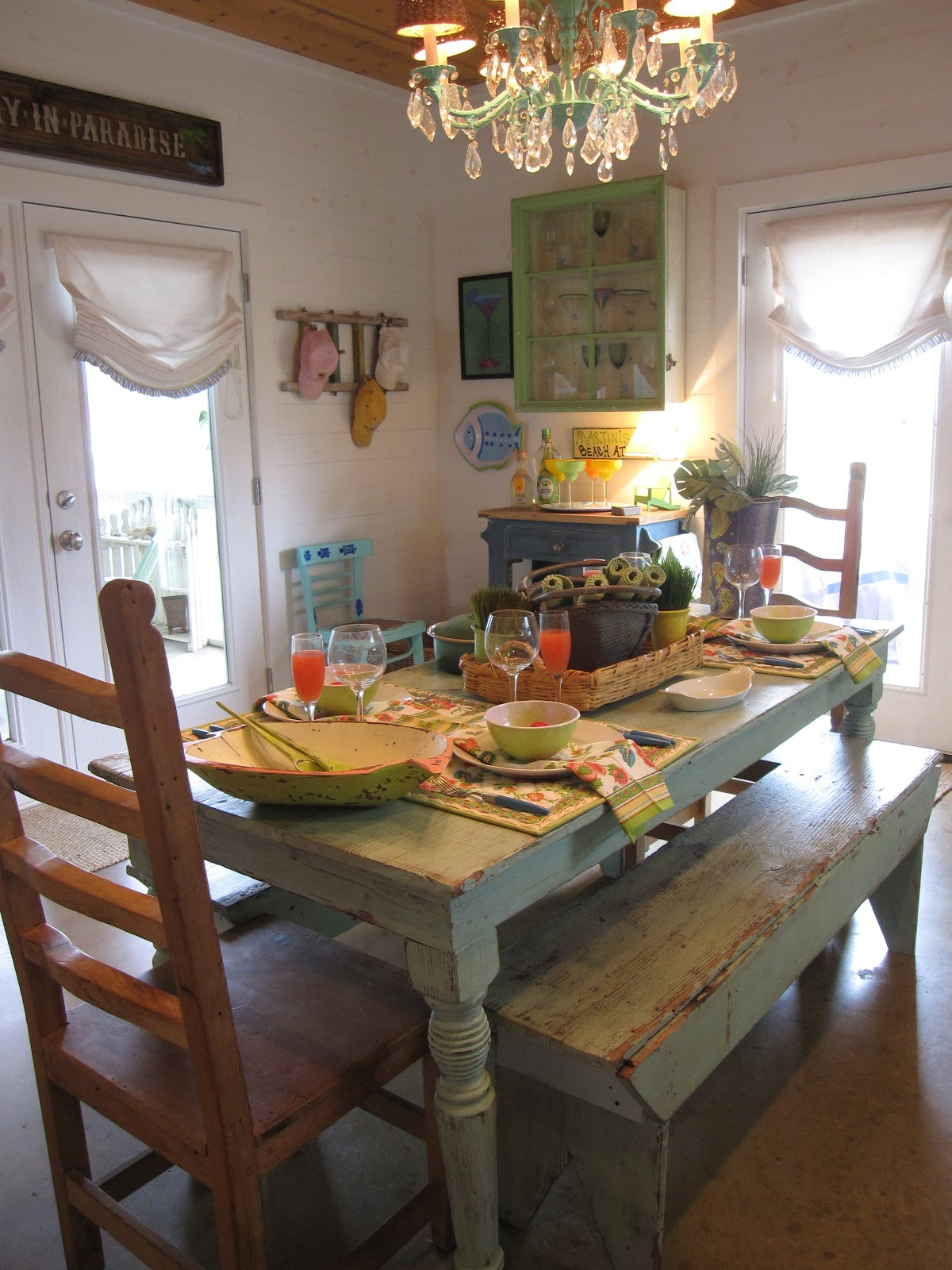 The decorating duchess keylime cottage kitchen easter - How to decorate your kitchen ...