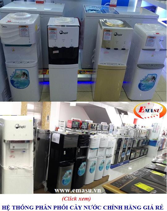 Nhà phân phối cây nước nóng lạnh 3 vòi Kangaroo KG39H chính hãng, giá rẻ trên toàn quốc