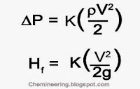 Pressure drop formula by Chemineering