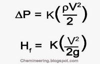 Pressure drop formula by Chemineering