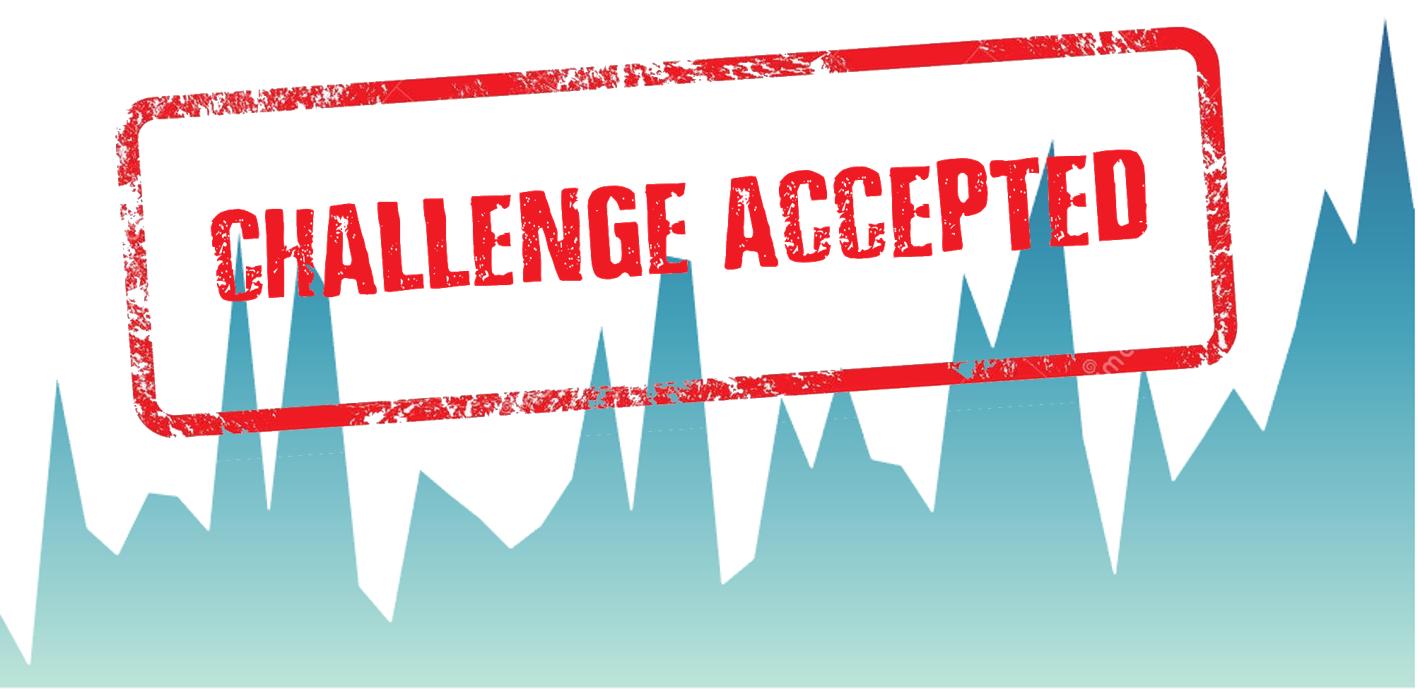 Gradient Gradient Area Chart Challenge