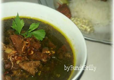 Resep Cara Membuat Rawon Daging Surabaya